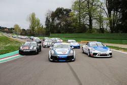 Gianmarco Quaresmini, Dinamic Motorsport, Tommaso Mosca, Tsunami RT, Sergio Campana, Ghinzani Arco Motorsport e il resto dei protagonisti della Carrera Cup 2021