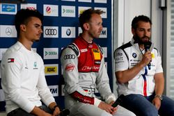 Conferenza stampa con Pascal Wehrlein, Mercedes-AMG Team HWA, René Rast, Audi Sport Team Rosberg, Timo Glock, BMW Team RMG