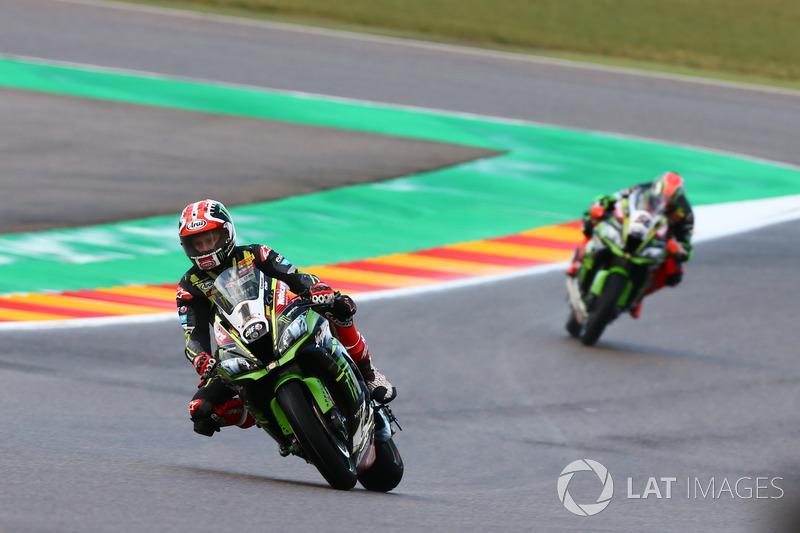 Jonathan Jonathan Rea, Kawasaki Racing, Tom Sykes, Kawasaki Racing