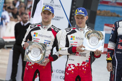Podyum: 2. Ott Tänak, Martin Järveoja, Toyota Gazoo Racing WRT Toyota Yaris WRC