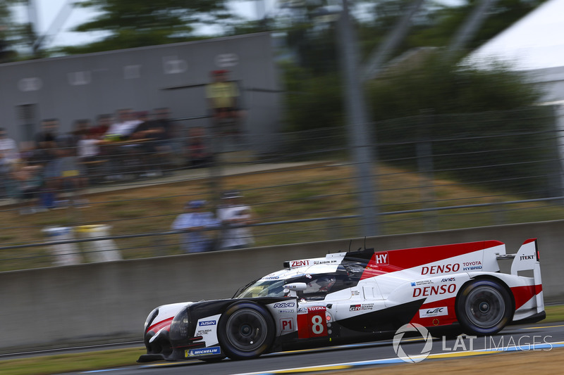 #8 Toyota Gazoo Racing Toyota TS050: Sébastien Buemi, Kazuki Nakajima, Fernando Alonso, Jose Maria López