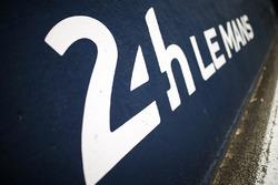 De pitstraat van Le Mans