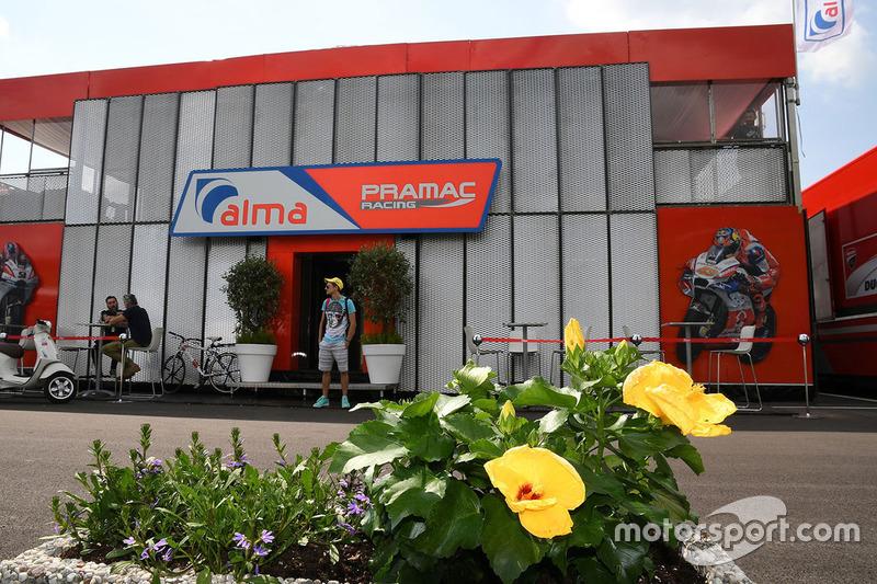 Pramac Racing motorhome