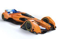 Концепт McLaren X2