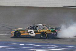 Austin Dillon, Richard Childress Racing, Chevrolet Camaro Bass Pro Shops / Cabela's celebrates his w