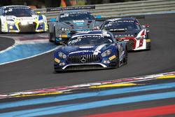 #88 Mercedes-AMG Team Akka ASP Mercedes-AMG GT3: Raffaele Marciello, Thomas Jäger, Adam Christodoulou