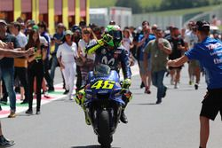 Thrid place Valentino Rossi, Yamaha Factory Racing