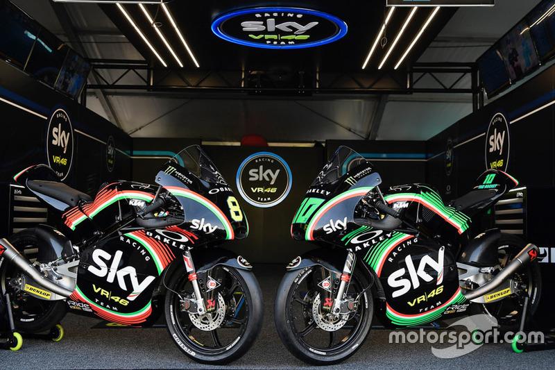 Dennis Foggia, Sky Racing Team VR46, Nicolo Bulega, Sky Racing Team VR46, livree speciali per il Mugello