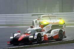 Экипаж №7 команды Toyota Gazoo Racing, Toyota TS050 Hybrid: Майк Конвей, Камуи Кобаяши, Хосе Мария Л
