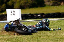 Nicolo Bulega, Sky Racing Team VR46 crash