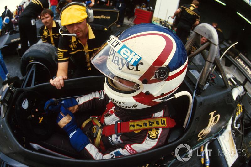 67: Nigel Mansell, Lotus 95T