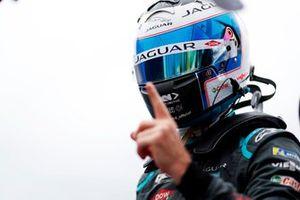 Pole man Sam Bird, Jaguar Racing