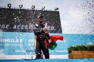 Podio: tercer lugar Antonio Felix da Costa, DS Techeetah