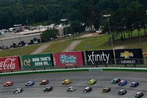 Christopher Bell, Joe Gibbs Racing, Toyota Camry Craftsman ACE / CMN, Tyler Reddick, Richard Childress Racing, Chevrolet Camaro Okuma