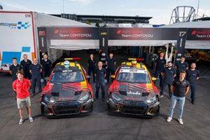 Frédéric Vervisch, Comtoyou Team Audi Sport Audi RS 3 LMS, Gilles Magnus, Comtoyou Team Audi Sport Audi RS 3 LMS