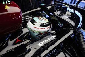 Valtteri Bottas, Mercedes, dans son cockpit