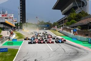 Matteo Nannini, HWA Racelab, Jack Doohan, Trident, Dennis Hauger, Prema Racing, Victor Martins, MP Motorsport