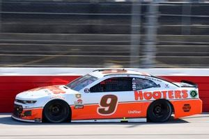 Chase Elliott, Hendrick Motorsports, Chevrolet Camaro Hooters Throwback