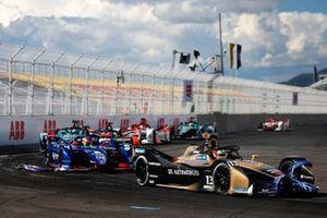 Antonio Felix da Costa, DS Techeetah, DS E-Tense FE21, Robin Frijns, Envision Virgin Racing, Audi e-tron FE07