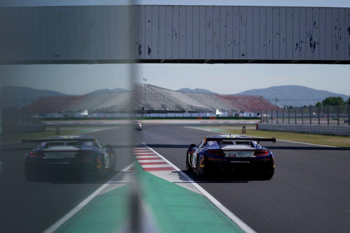 #77 Nova Race, Honda NSX GT3 Evo: Erwin Zanotti, Jorge Cabezas Catalán