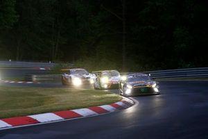 """#40 10Q Racing Team Mercedes-AMG GT3 Evo: Kenneth Heyer, Thomas J""""ger, Yelmer Buurmann, Dominik Baumann"""