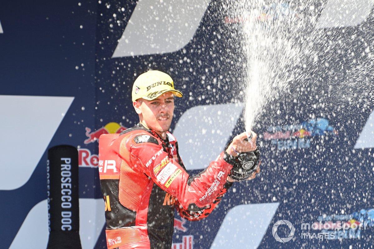 Podio: Jeremy Alcoba, Team Gresini Moto3