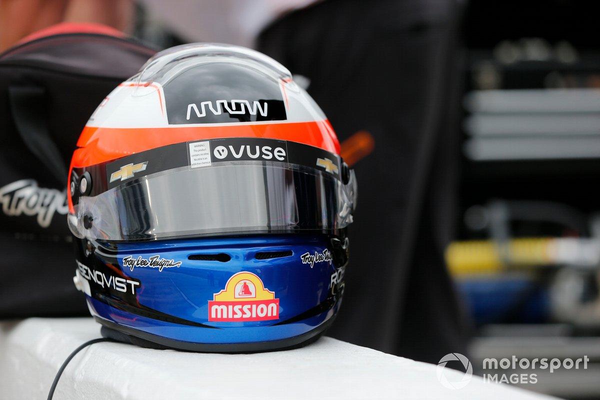 Felix Rosenqvist, Arrow McLaren SP Chevrolet casco