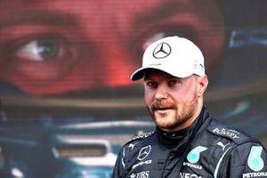 Pole man Valtteri Bottas, Mercedes