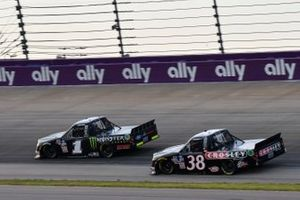 Hailie Deegan, Team DGR, Ford F-150 Monster Energy, Todd Gilliland, Front Row Motorsports, Ford F-150 Crosley Brands