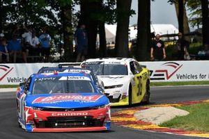 Michael Annett, JR Motorsports, Chevrolet Camaro Allstate Peterbilt Group 50th, Alex Labbe, DGM Racing, Chevrolet Camaro Can-Am