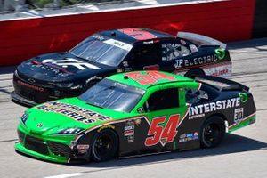 Ty Giibs, Joe Gibbs Racing, Toyota Supra Interstate Batteries, Matt Mills, B.J. McLeod Motorsports, Toyota Supra J.F. Electric