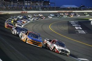 Sheldon Creed, GMS Racing, Chevrolet Silverado, Todd Gilliland, Front Row Motorsports, Ford F-150 The Pete Store