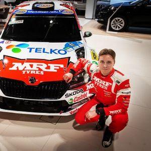 Emil Lindholm, Skoda Fabia Rally2 evo