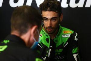 Raffaele De Rosa, Orelac Racing VerdNatura, dans son box
