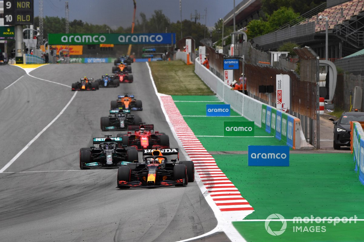 Max Verstappen, Red Bull Racing RB16B, Lewis Hamilton, Mercedes W12, Charles Leclerc, Ferrari SF21, Valtteri Bottas, Mercedes W12