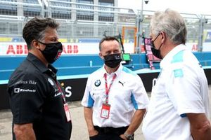 Michael Andretti und Roger Griffiths