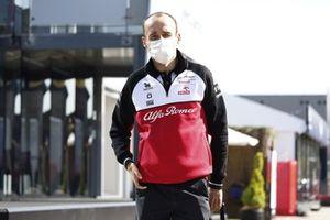 Robert Kubica, piloto de prueba y reserva de Alfa Romeo Racing
