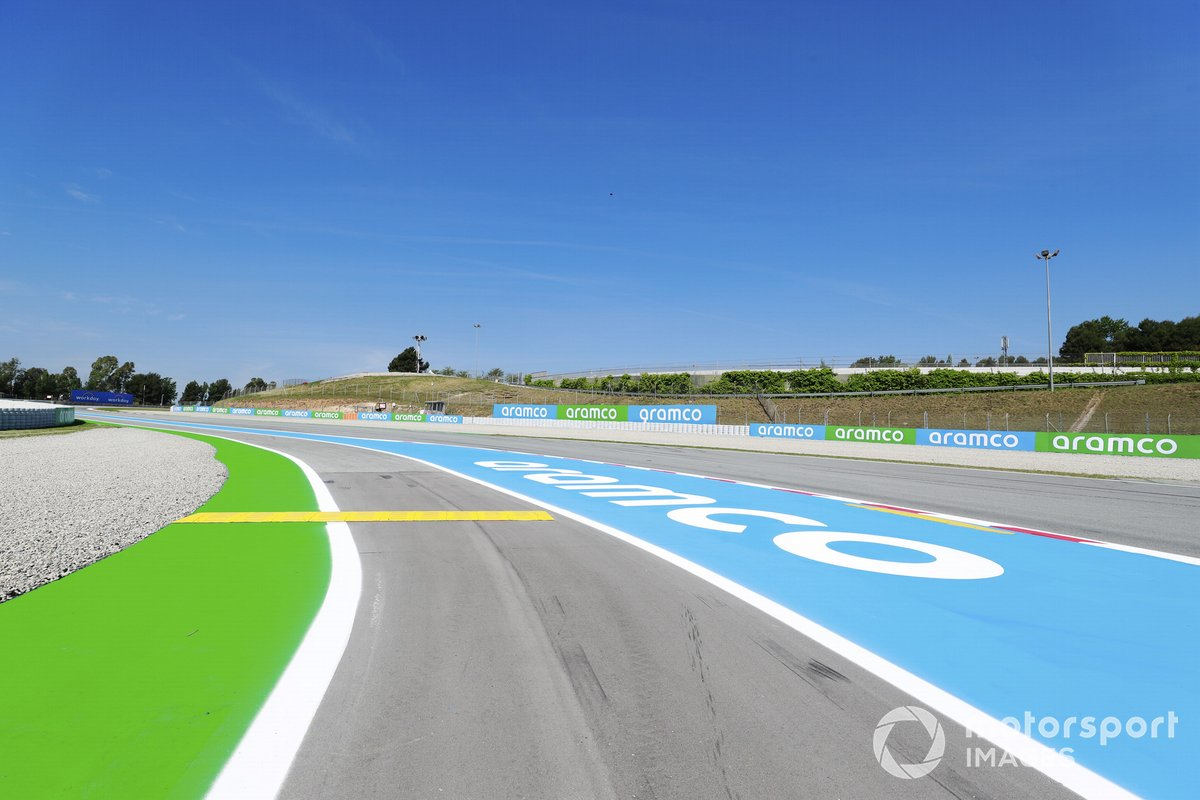 Vista del Circuit de Barcelona-Catalunya