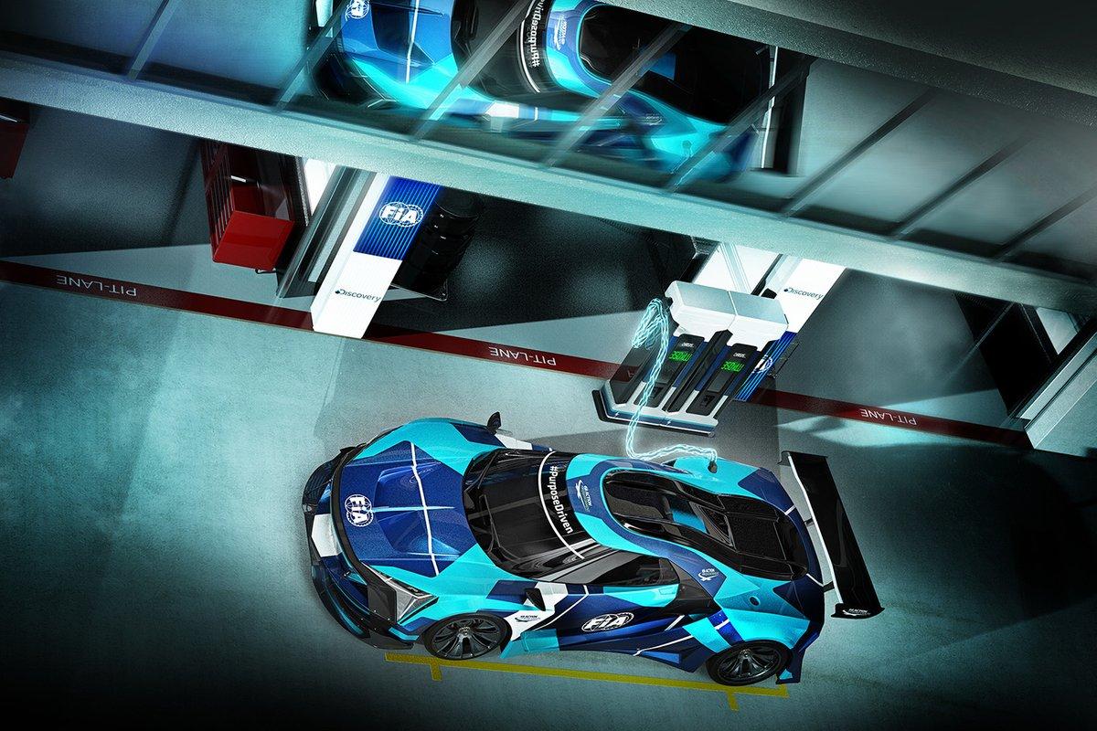 FIA Electric GT Championship car