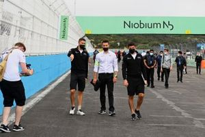 Edoardo Mortara, Venturi Racing, Norman Nato, Venturi Racing, marchent sur la piste