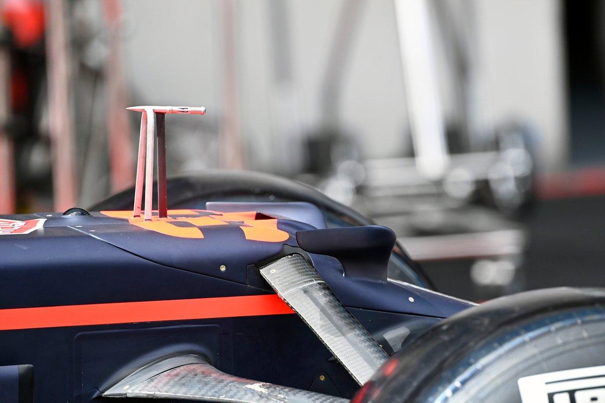 Detalles técnicos del Red Bull Racing RB16B