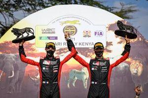 Podium: Sébastien Ogier, Toyota Gazoo Racing