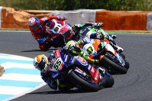 Andrea Locatelli, PATA Yamaha WorldSBK Team, Axel Bassani, Motocorsa Racing