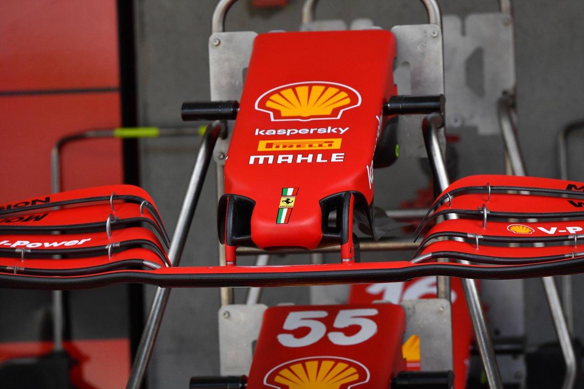 Detalle de la capa nueva capa del Ferrari SF21