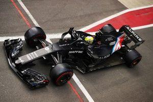 Guanyu Zhou, Renault F1 R.S.18
