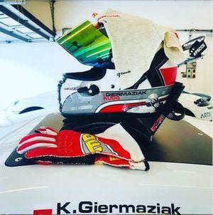 Kuba Giermaziak, Porsche Cayman GT4 Clubsport