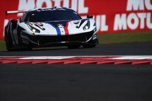 #83 AF Corse Ferrari 488 GTE EVO, Francois Perrodo, Emmanuel Collard, Nicklas Nielsen
