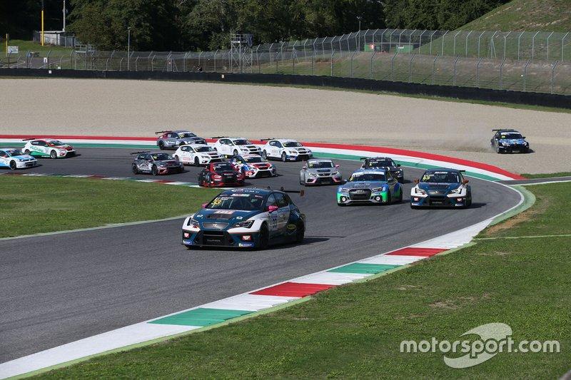 Partenza della Qualifying Race