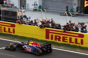Race winner Sebastian Vettel, Red Bull Racing RB7