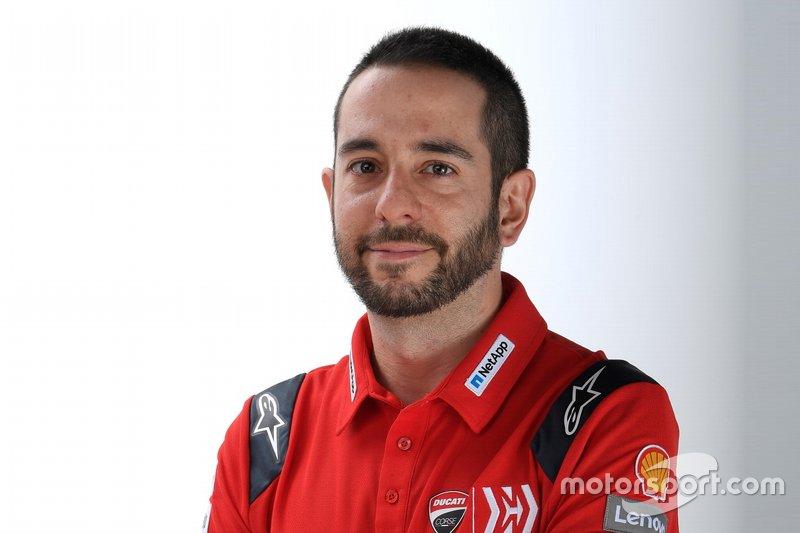 Luca Semprini, addetto stampa Ducati Team